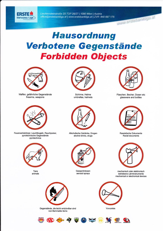 Zakázané předměty